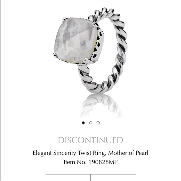 Pandora Accessories Elegant Sincerity Ring 56 7 34 Equivalent